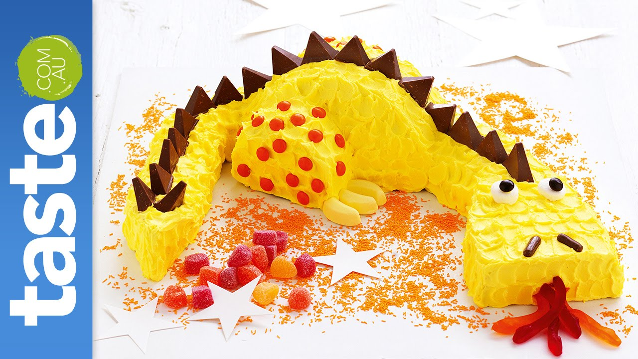 How to make a friendly dragon cake YouTube