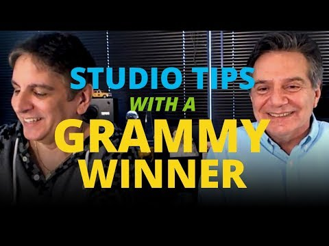 Studio Tips with Grammy-Winning Producer/Engineer/Mixer Rob Chiarelli