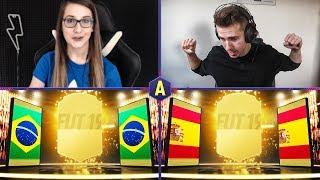 POJEDYNEK PŁCI W PACK AND PLAY! ADRYAN VS ROKCIA | FIFA 19