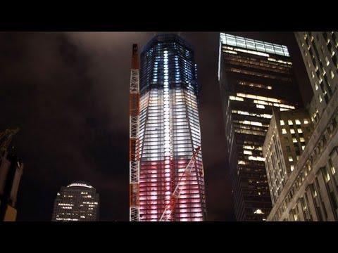 World Trade Center Memorial on 10th Anniversary of 9-11 Attacks