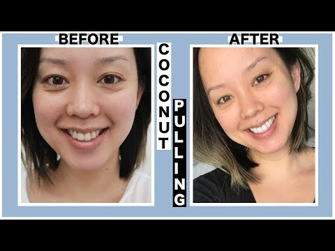 OIL PULLING COCONUT OIL  BEGINNERS HOW TO