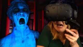 experiencing a GHOST SEANCE in virtual reality! | Seance: The Unquiet | VR Horror Game DEMO