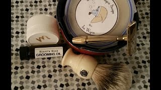 Dapper Dragon Soaps, Signature menthol aftershave Test#2
