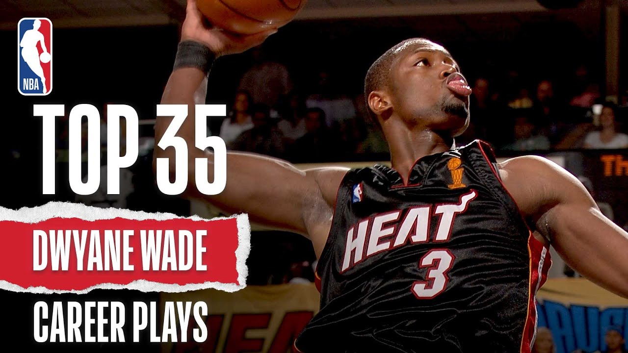 Download Dwyane Wade's Top 35 Plays of His Career!