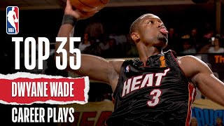 Repeat youtube video Dwyane Wade's Top 35 Plays of His Career!
