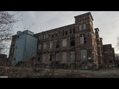 ABANDONED WIGAN COLLEGE!