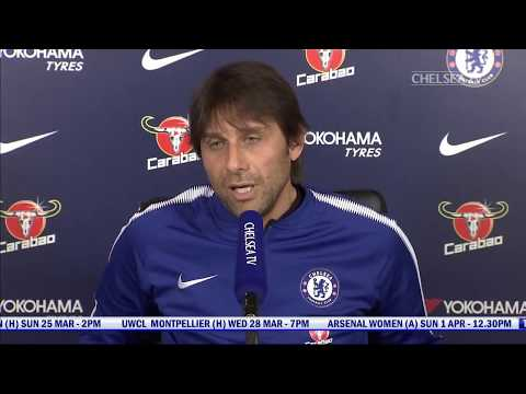Antonio Conte's Press Conference | Chelsea v Crystal Palace