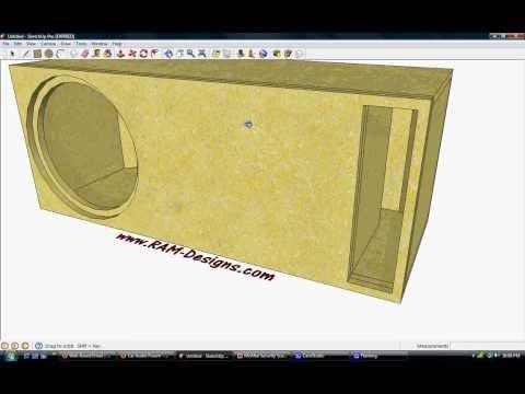 """RAM Designs: RE Audio SEX 15"""" Ported Box Design"""