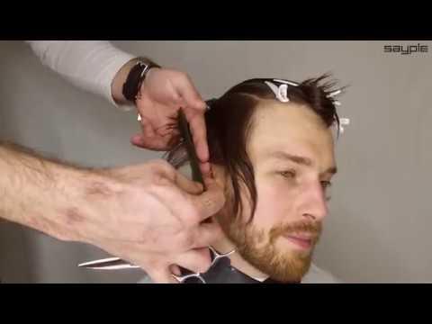 как подстричь удлиненную мужскую стрижку