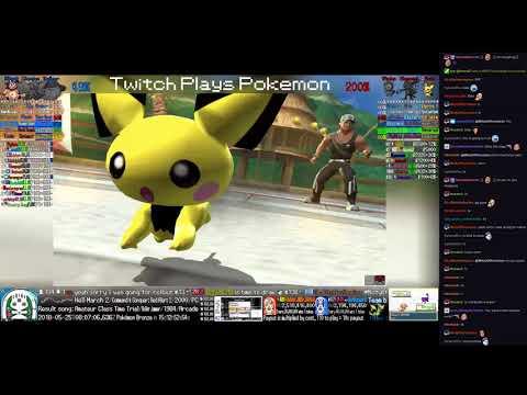 Twitch Plays Pokémon Battle Revolution - Matches #117794 and #117795