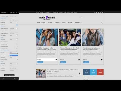 Newspaper 9 WordPress Theme - How to use the Flex Block element