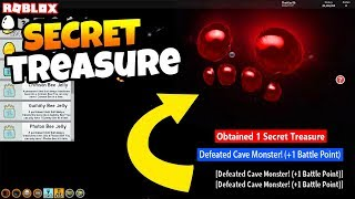 *SECRET* CAVE MONSTER TREASURE HAS BEEN FOUND!! (Roblox Bee Swarm Simulator Secrets)