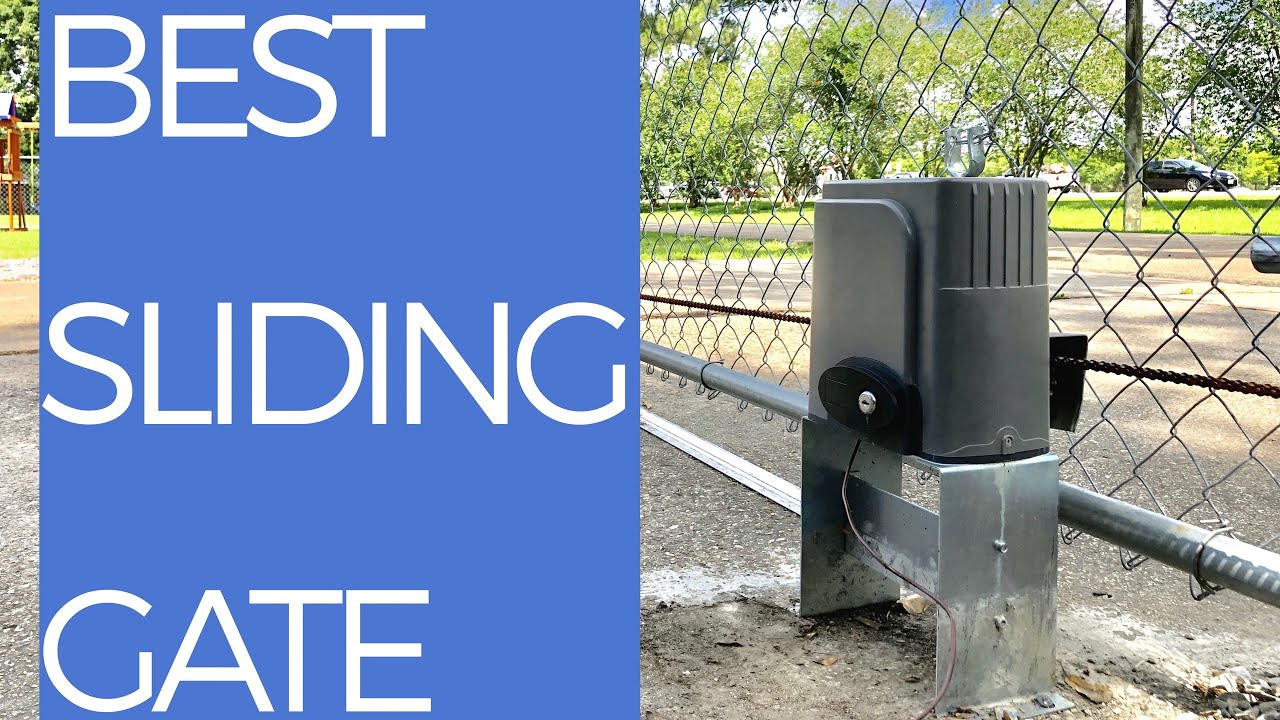 Co Z Automatic Sliding Gate Review How To Install Youtube Auto Swing Wiring Diagram
