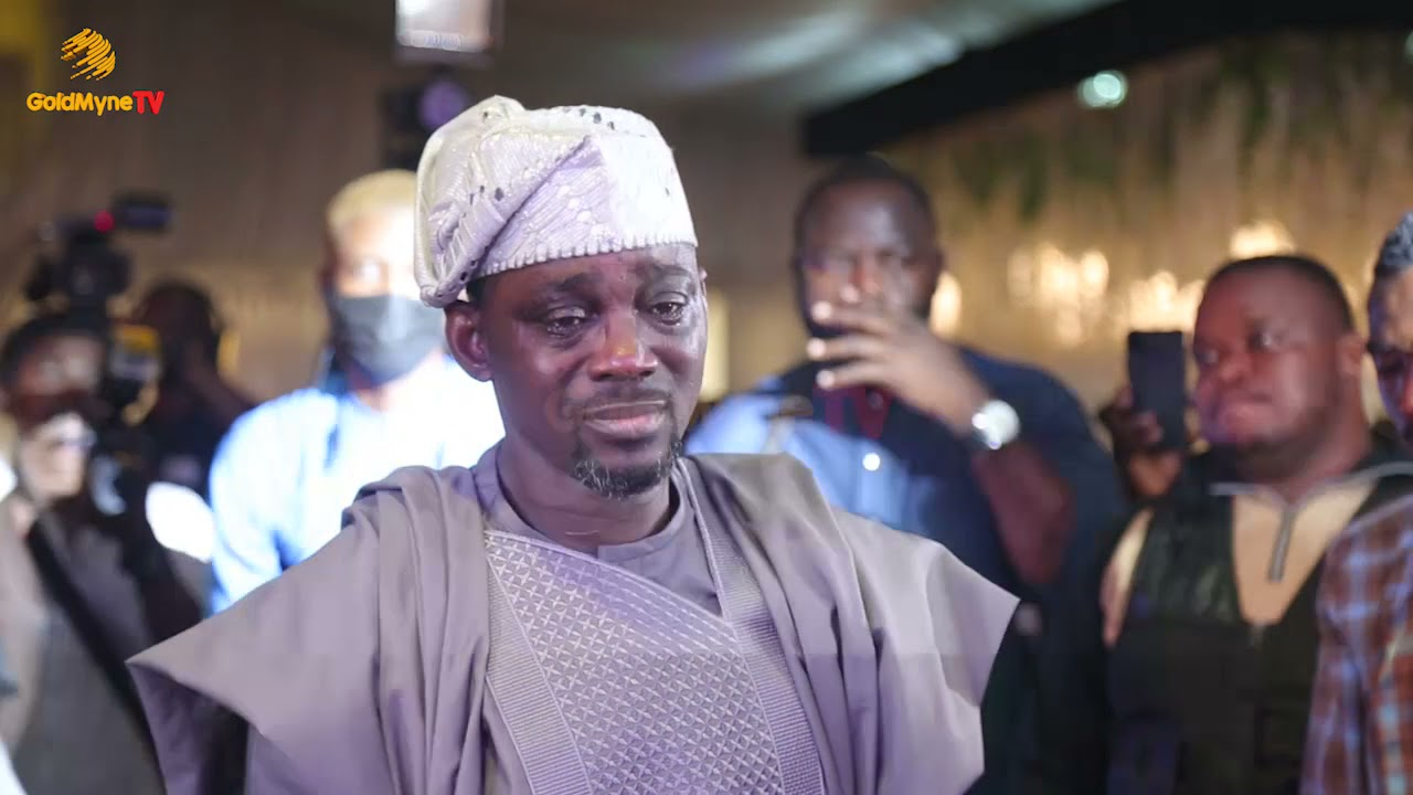 VERY EMOTIONAL MOMENT PASUMA WEPT AS HE GAVE OUT HIS DAUGHTER'S HAND IN MARRIAGE