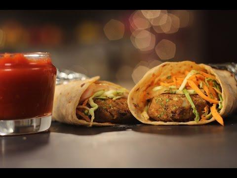 Veg Frankie | Not So Junky - by Chef Siddharth | Sanjeev Kapoor Khazana