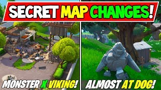 "'NEW' FORTNITE SECRET MAP CHANGES v9.21 ""VIKING MONSTER"" - ""ROCK KID - MEETS"" Saison 9 Storyline"