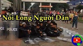 Lặng Lòng Nghe Chị Công Nhân Pouchen trả lời nhà báo khi đình công biểu tình