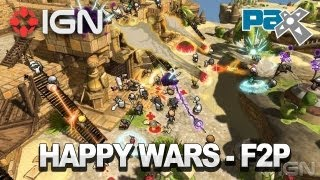 How Happy Wars is Bringing Free to Play to XBLA - PAX 2012