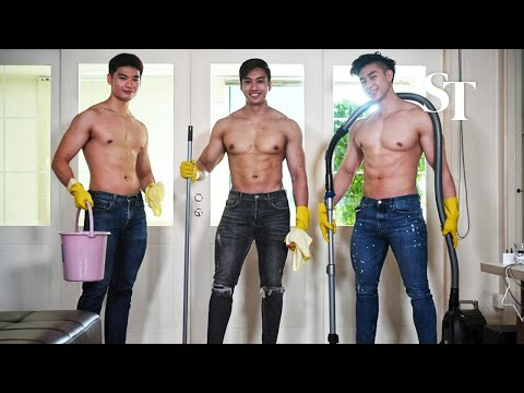 """ICYMI: """"Singapore 1st hunky guy cleaning service"""""""