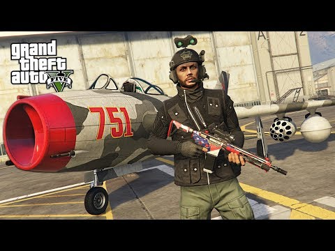 GTA 5 SMUGGLER'S RUN DLC - NEW RARE CARGO MISSIONS!! (GTA 5