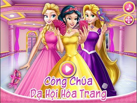 Hướng dẫn chơi game Công chúa: Dạ hội hóa trang – Trên GameVui
