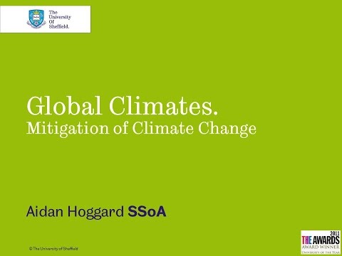 Global Climates Mitigation of Climate Change