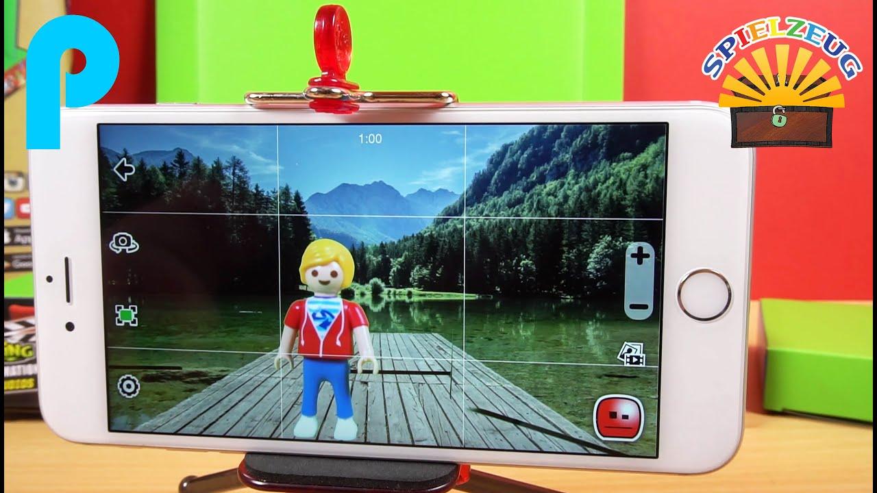 playmobil film selber machen - anleitung mit stikbot app - kinder