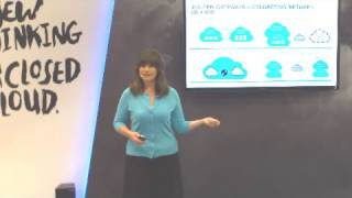 Juniper Networks Presentation at VMworld (Emilie Barta, Trade Show Presenter/Corporate Spokesperson)