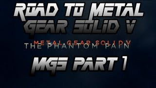 Metal Gear Solid 1 (PS1) Part 7 - The Road to Metal Gear Solid 5 - The Phantom Pain