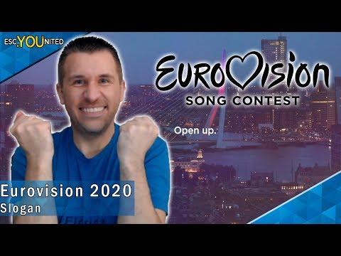 "Eurovision 2020 Slogan ""Open Up""- Reaction"