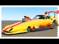 CRAZY DRAG CAR (2000 MPH Challenge) | GTA 5 Car Mods