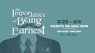 "Booth Tarkington Civic Theatre presents: ""The Importance of Being Earnest"""