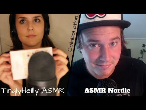 ASMR | Italian/Norwegian Collaboration with TinglyHelly ASMR👍