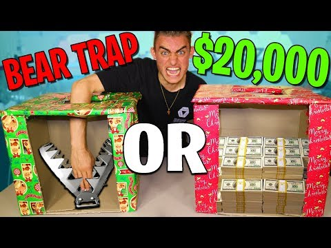 BEAR TRAP OR $20,000... (CRAZY CHALLENGE)