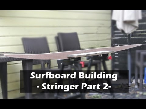 Making A Surfboard Stringer Template Part 2 How To Build 05