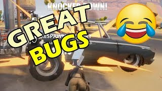 Amazing Fortnite Bugs - the Fun and POWER is real + Loads of Llamas in STW