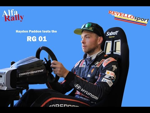 Hayden Paddon Tests RG01