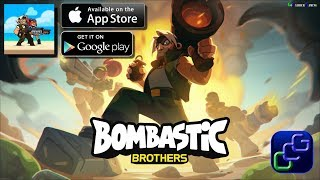 Bombastic Brothers iOS Gameplay - Act 1: Termite Assault
