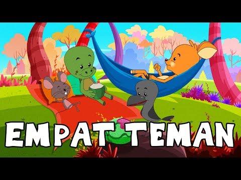 Empat Teman - Cerita Untuk Anak-Anak | Dongeng Bahasa Indonesia | Animasi Kartun