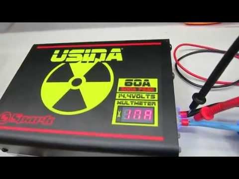 USINA 60A - Voltimetro e Amperimetro - Linha 2016
