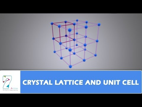 CRYSTAL LATTICE AND UNIT CELL