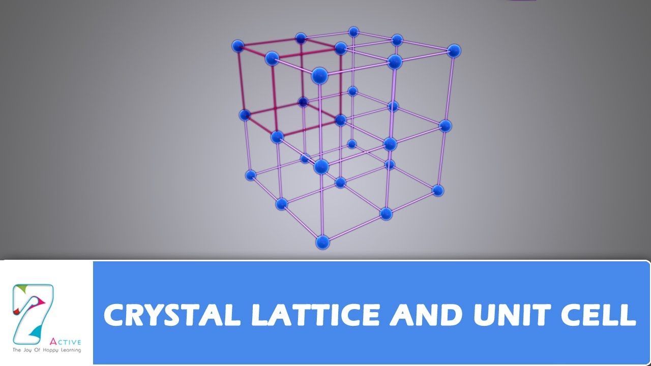 Aaa C Wire Color Diagram Typical Single Line Unit Crystal Lattice And Cell Youtube