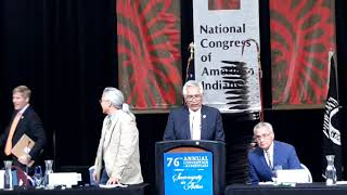 NCAI 2019 NATIONAL CONGRESS OF AMERICAN INDIANS Welcome to City of Albuquerque   Ron Solomon