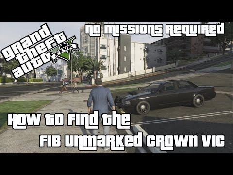 Unmarked Cruiser - GTA 5 Wiki Guide - IGN