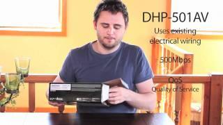 Getting Started: PowerLine AV 500 Network Starter Kit (DHP-501AV)