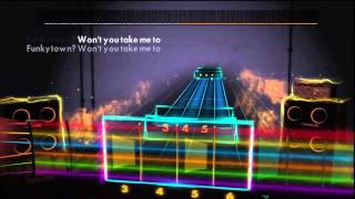 Lipps - Funkytown ( Shrek 2 soundtrack playthrough) PS3 Rocksmith 2014