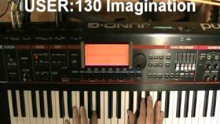 Roland Juno-G PIANO demos (part 1 of 2)