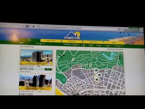 How to buy Houses, Apartments, Garages in Grand Theft Auto V online