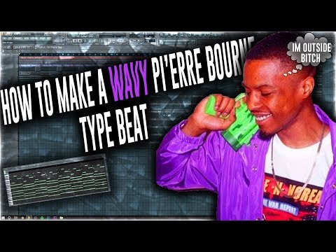 How To Make A ᎳᎪᏉᎽ Pi'erre Bourne Type Beat (🌊)
