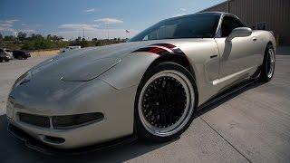 UPP C5 Corvette Twin Turbo Installation